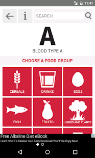 ORCHA - Review of Food For Your Blood Type Diet version 1 3