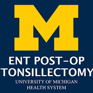 MOTT ENT Post-op: Tonsillectomy app logo image