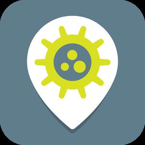 Flu Map Tracker app logo image