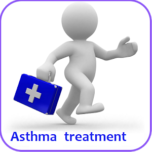 Asthma treatment app logo image