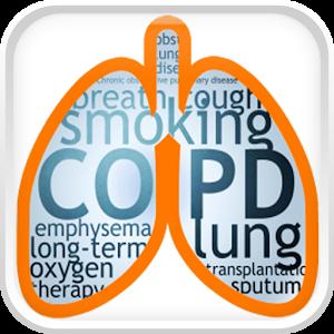 COPD Disease app logo image