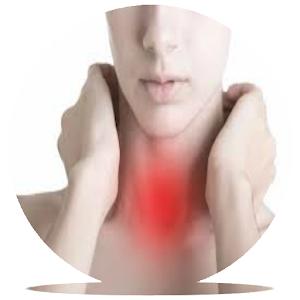 Tonsillitis infection app logo image