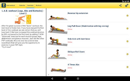 ORCHA - Review of Butt workout - 4 week program version 4 6